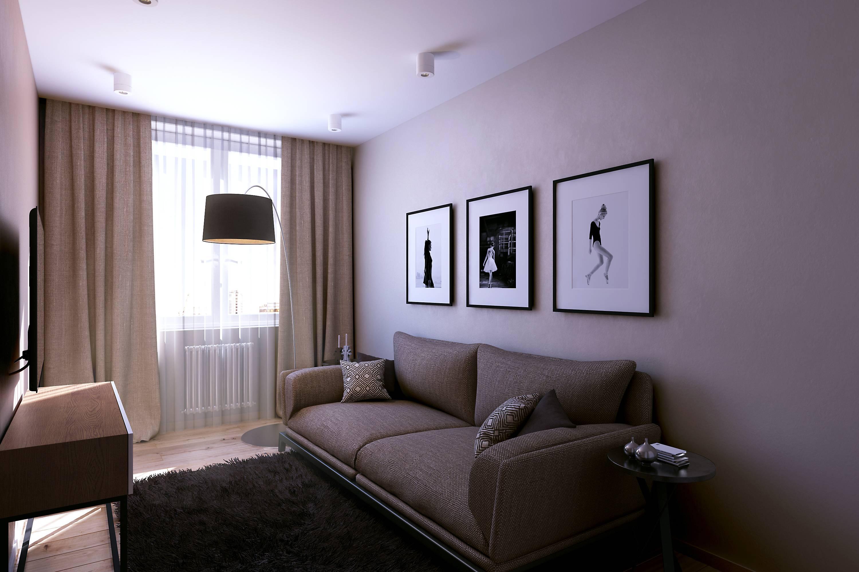 Дизайн гостиной комнаты в хрущевке