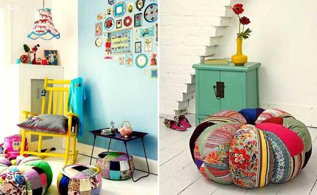 Стиль пэчворк в интерьере кухни - фото дизайна и советы по созданию