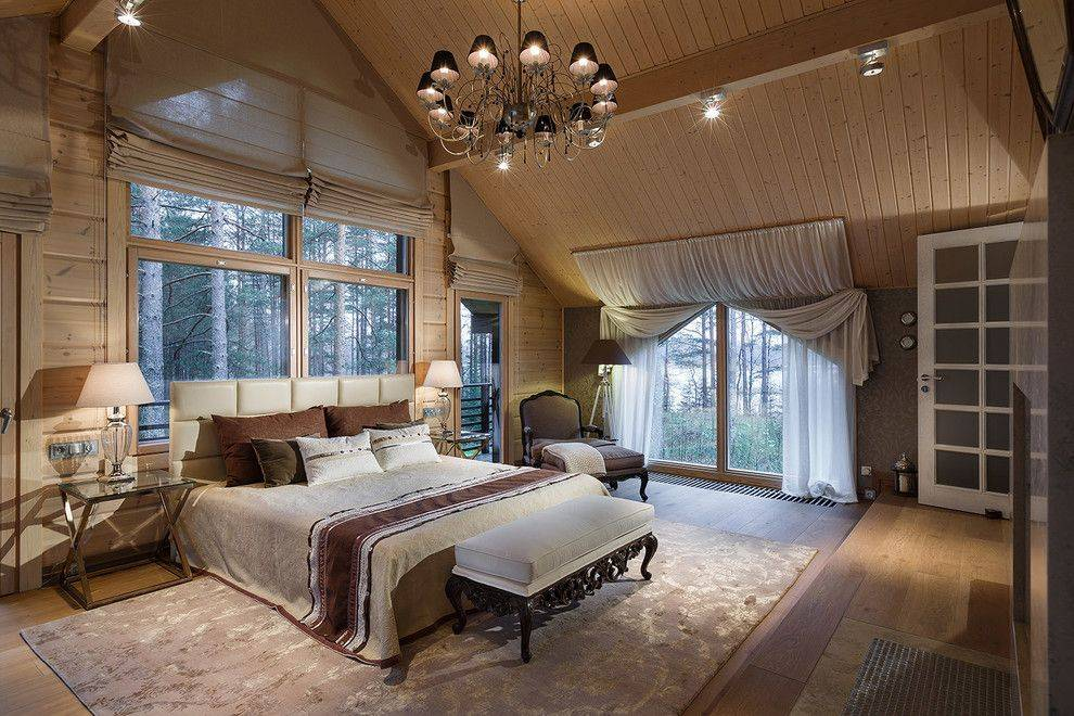 Шторы на мансардные окна (66 фото): рулонные шторы в спальню мансардного типа со скошенным потолком, римские шторы на окна со скосом и другие варианты