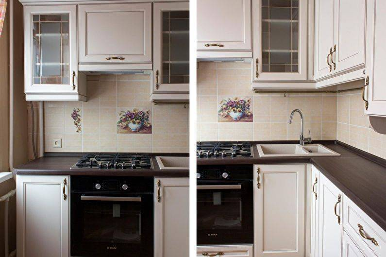 Кухня 6 кв. м. – как оборудовать и стильно оформить маленькую кухню? 130 фото идей и советов