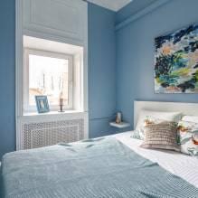 Дизайн спальни площадью 9-11 кв. м