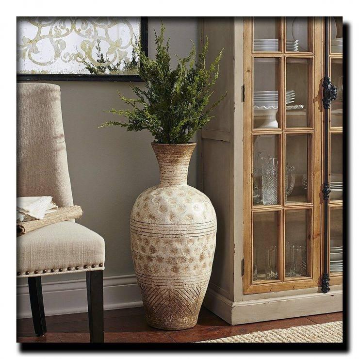 Напольные вазы в интерьере: тонкости выбора оригинального декора