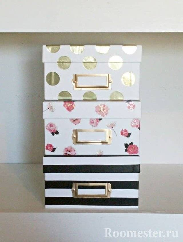 Коробка из картона своими руками: способы как сделать оригинальные подарочные коробки (115 фото)