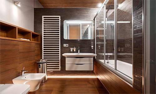 Ванные в скандинавском стиле: специфика скандинавского дизайна и идей подбора цвета и материалов (85 фото)