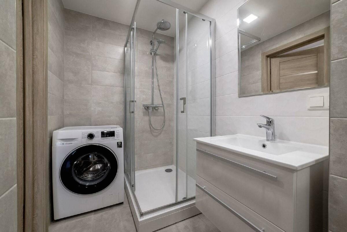 Дизайн ванной комнаты, совмещенной с туалетом 3 кв. м