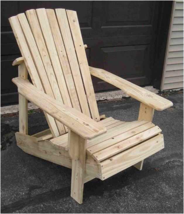 Кресло-качалка из дерева своими руками