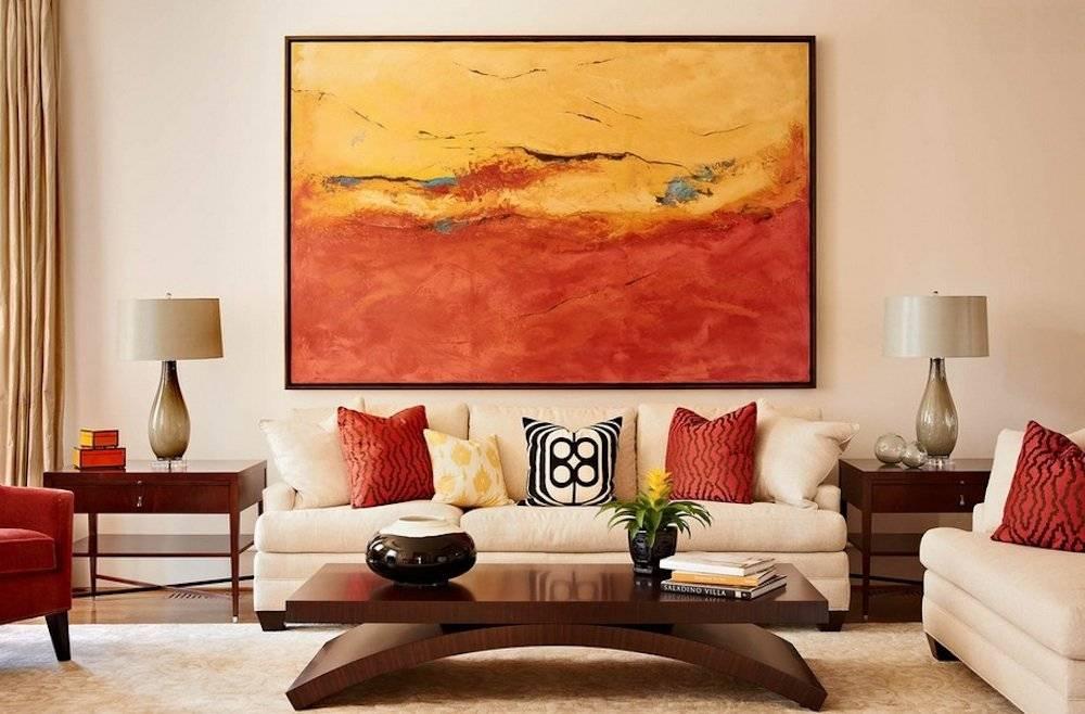 Картины для гостиной - 75 вариантов идеального сочетания в интерьере
