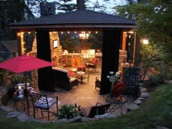 Мангальная зона на даче: обустройство барбекю помещения для комфортного отдыха