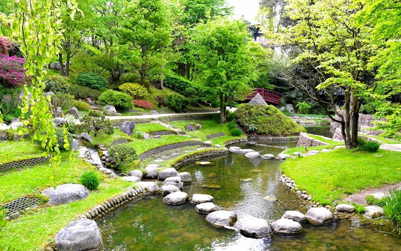 Японский ландшафтный дизайн, фото – rehouz