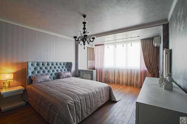 Дизайн спальни с балконом: секреты визуального объединения смежного пространства
