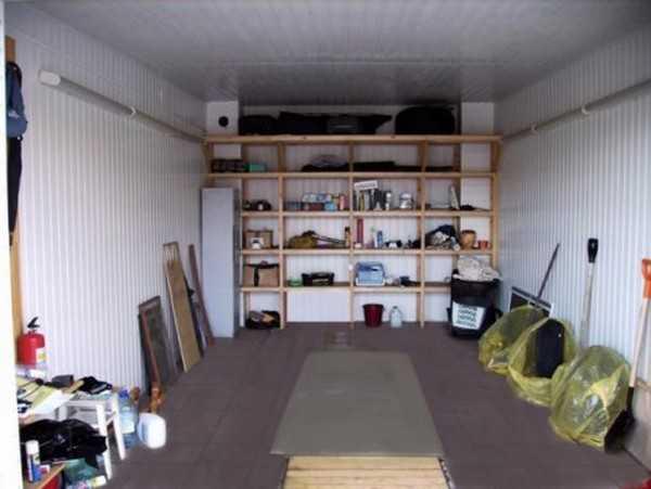 Изготовление стеллажей и полок для гаража своими руками, размеры и варианты расстановки