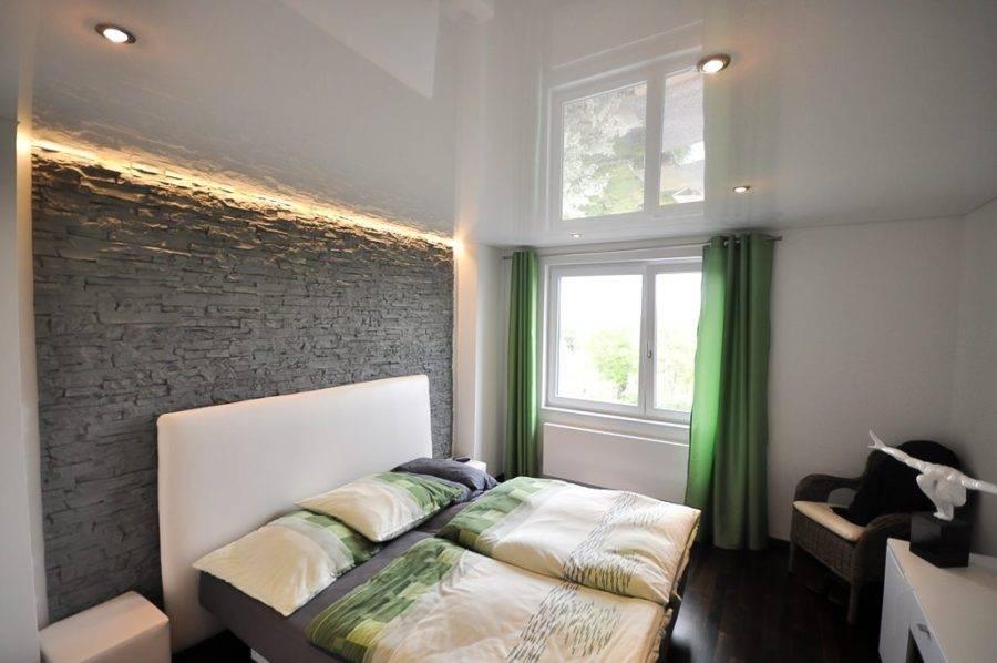 Современное освещение в спальне с натяжными потолками: фото и советы профессионалов