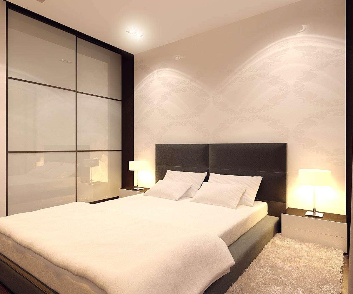Интерьер и дизайн спальни в стиле минимализм | 40 идей для комнаты