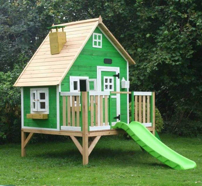Детский домик своими руками: деревянный пошаговая инструкция 60+ фото чертежи схемы