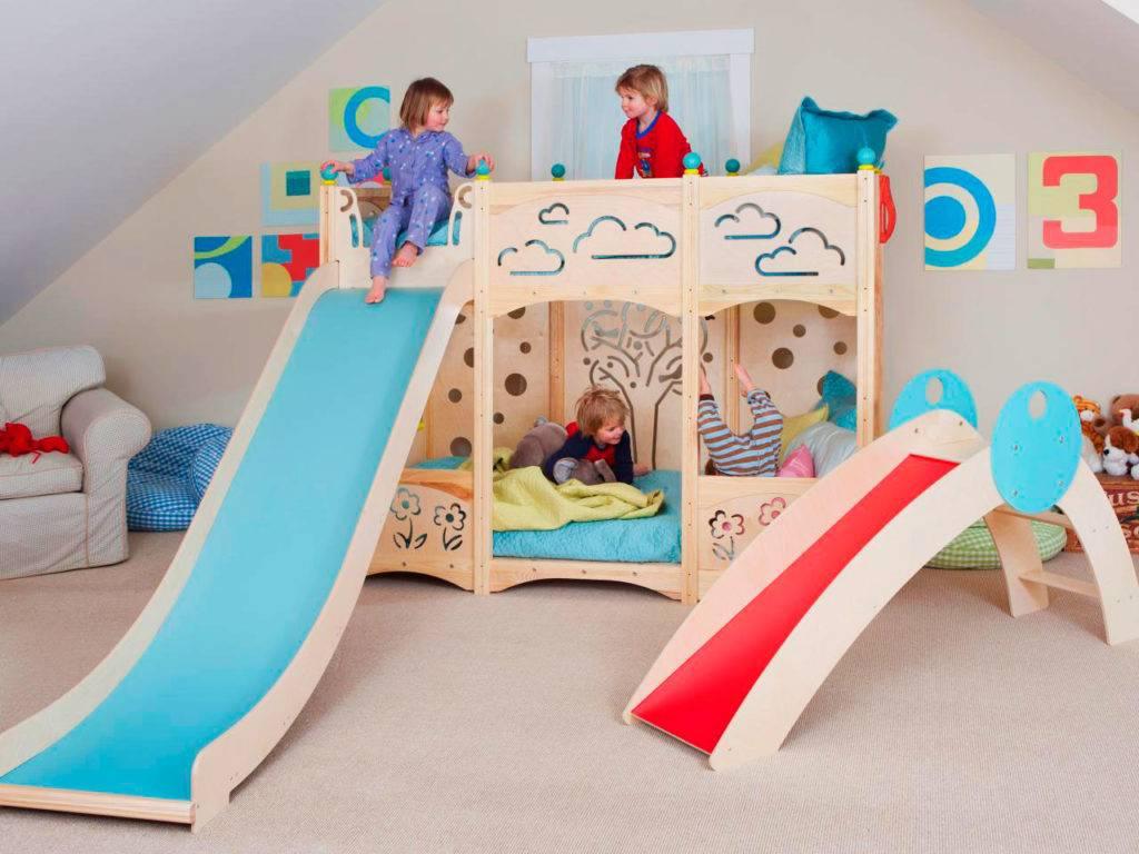 Детские двухъярусные кровати – самые популярные варианты для детей и подростков (70 фото)