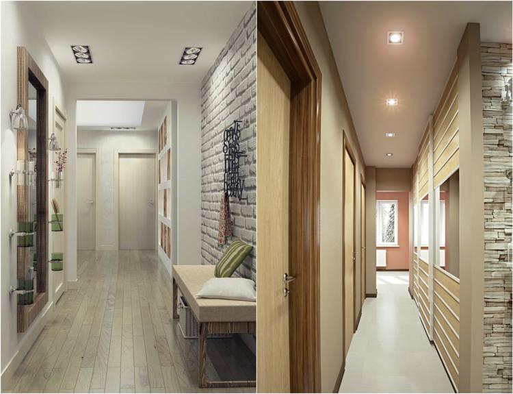 Дизайн узкого коридора в квартире: 5 лайфхаков по обустройству