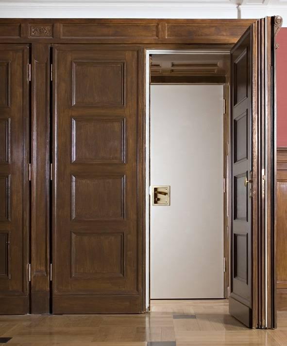 Сочетание дверей в интерьере