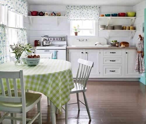 Дизайн интерьера зеленой кухни (70+ фото)