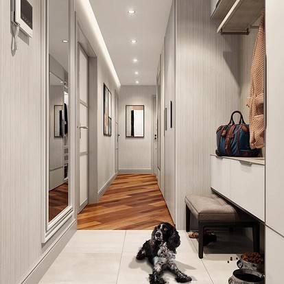 Коридор (90 фото): идеи оформления декора и дизайна 2021 в интерьере квартиры панельного дома, реальные и красивые варианты