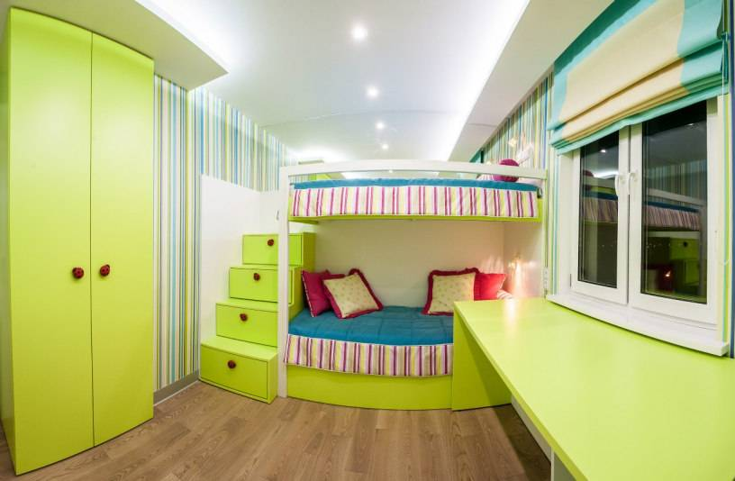 Дизайн комнаты, спальни-гостиной на 15 квадратных метров  - 39 фото