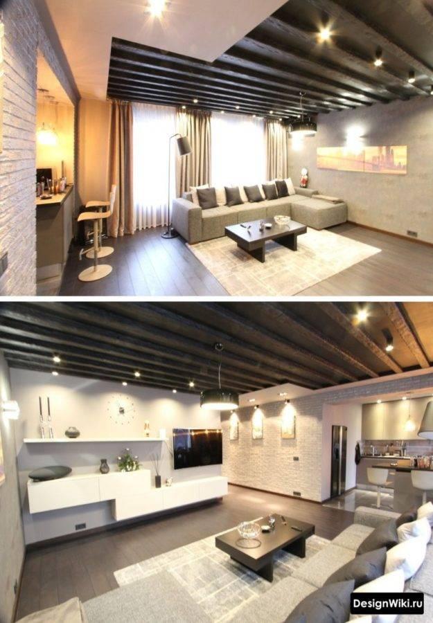 Особенности выбора для квартиры или дома перегородки между кухней и гостиной