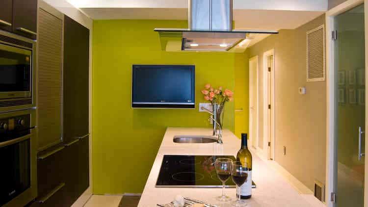 Покраска стен на кухне (65 фото): идеи дизайна - чем покрасить и какой краской