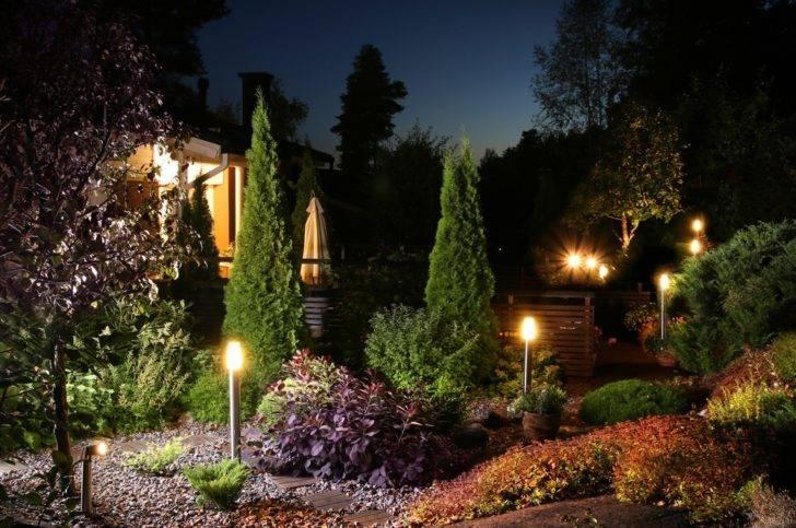 Освещение участка своими руками - 100 фото идей освещения двора