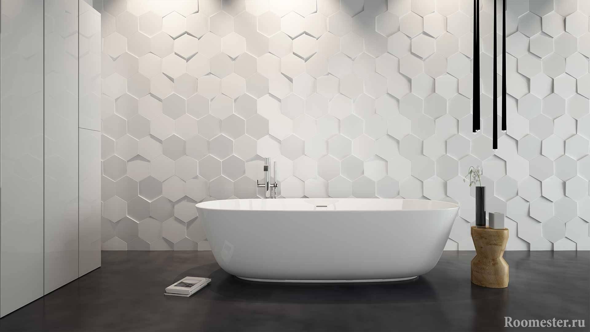Цвет плитки в ванной - удачные сочетания плитки и затирки (115 фото)