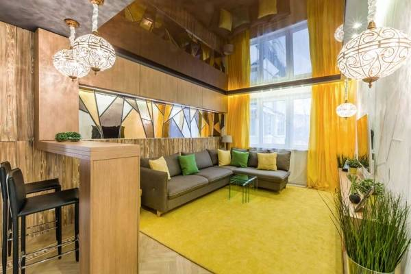 Гостиная в современном стиле (126 фото):  красивые новинки дизайна 2021 года, «классика» для зала в квартире
