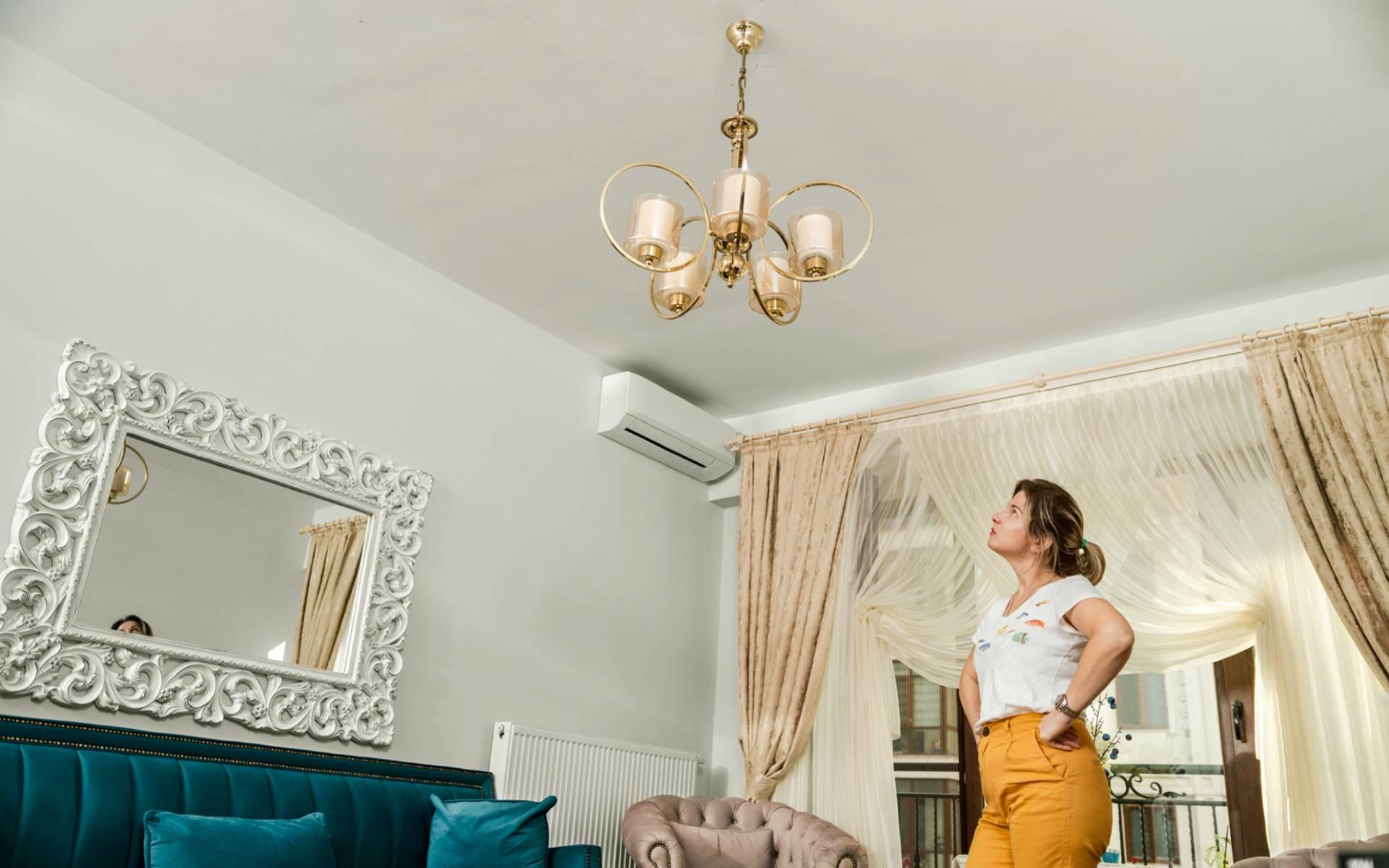Как визуально поднять низкий потолок: советы профессионалов