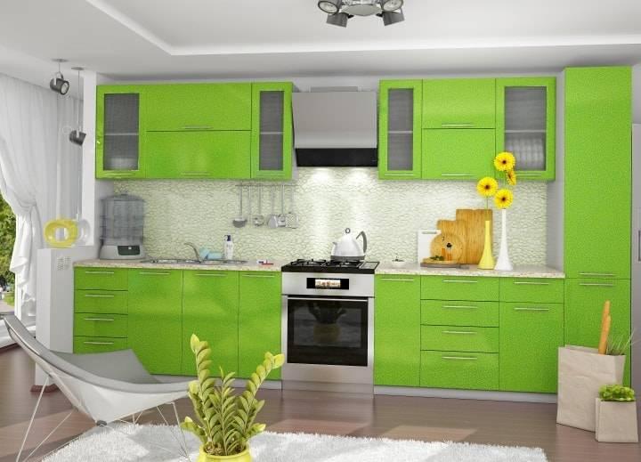 Зеленая кухня в интерьере: 130+(фото) сочетаний с другими цветами