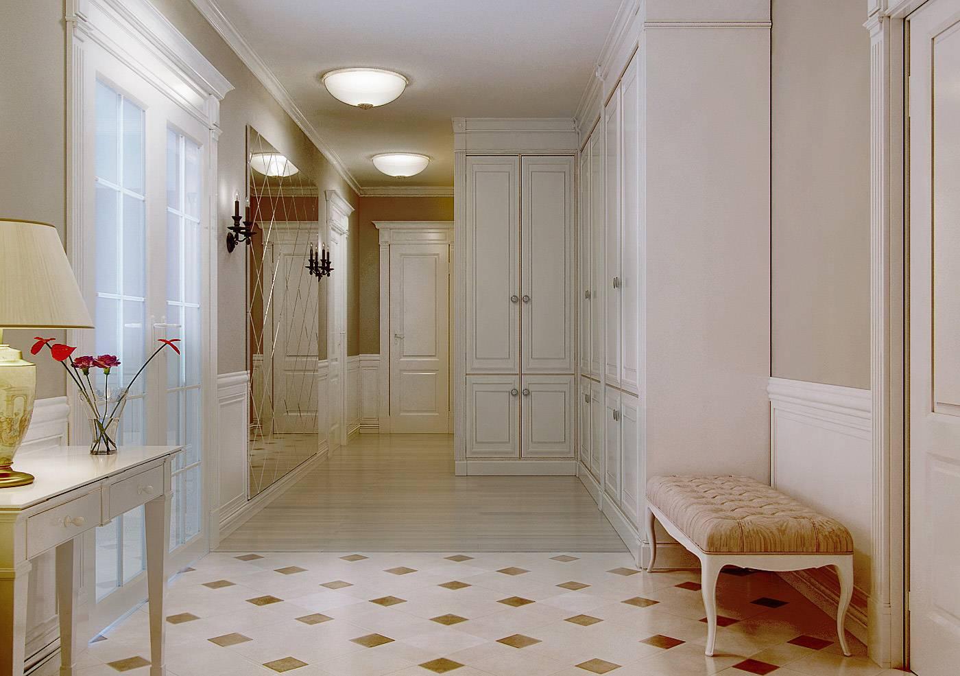 Плитка на пол в коридор и прихожую: дизайн, виды, варианты раскладки, цвета, комбинирование