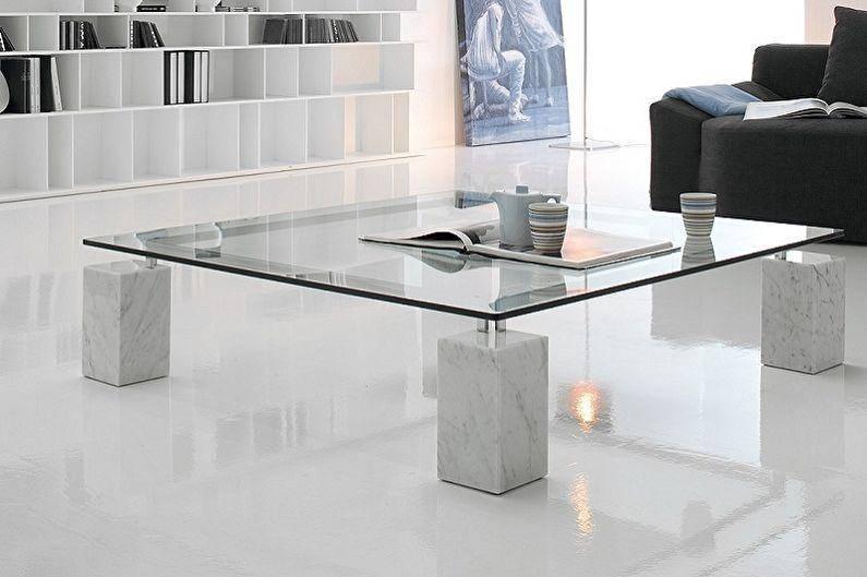 Журнальный стол в стиле лофт как необычный предмет интерьера