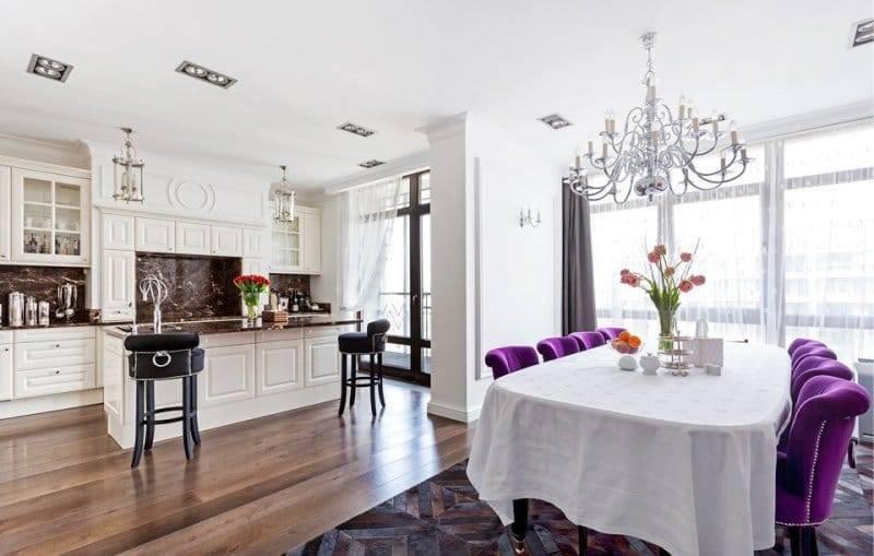 Гостиная в стиле арт-деко — 75 фото идей изумительного дизайна