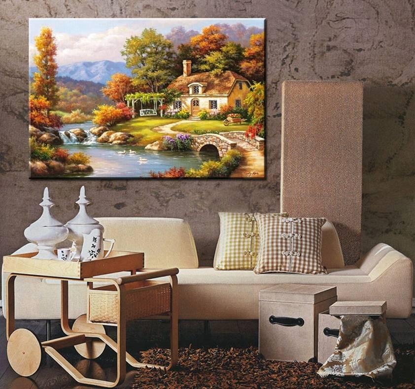 Постеры и картины для интерьера: как правильно использовать актуальный элемент декора