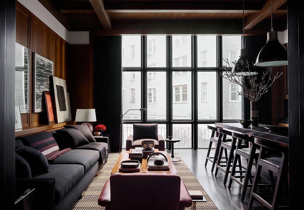 Интерьер квартиры холостяка: создаем мужской дизайн - smallinterior