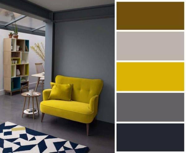 Мятный цвет: сочетание с другими цветами в интерьере