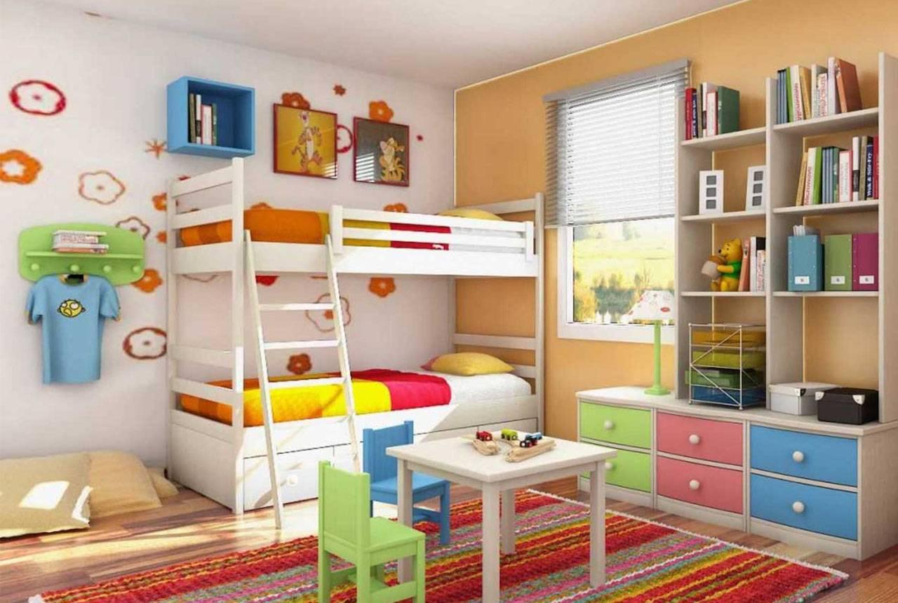 Детская для разнополых детей: варианты дизайна детской комнаты - smallinterior