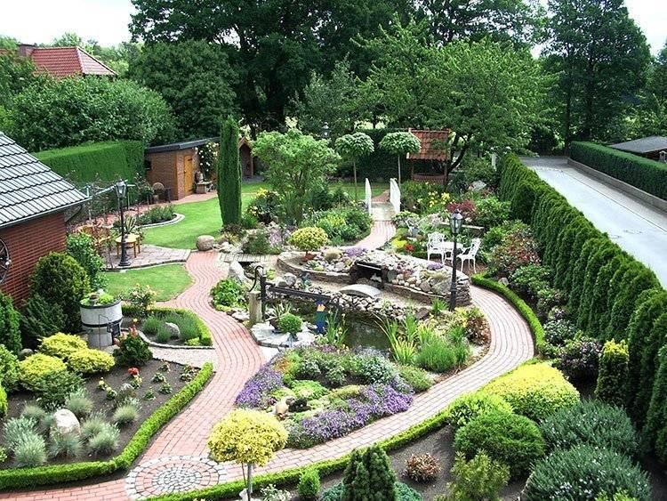 Цветы на даче: создание цветника своими руками — 75 фото - огород, сад, балкон - медиаплатформа миртесен