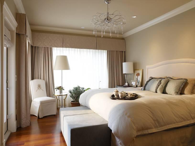 Особенности оформления спальни в бежевых тонах