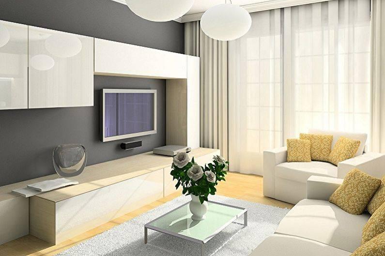 Дизайн комнат 12 площадью кв. м в современном стиле
