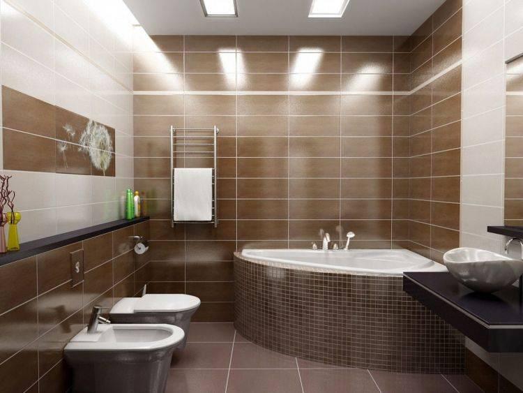 Раскладка плитки в ванной: примеры в интерьере, 50 фото, оригинальные идеи