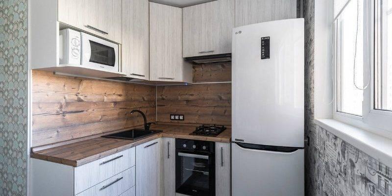 Кухня площадью 6 кв.м. в хрущевке: дизайн и декор