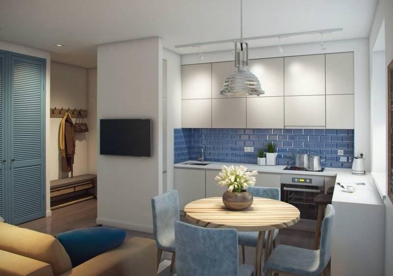 Варианты дизайна кухни 10 кв. м с диваном