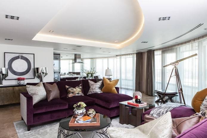 Как выбрать цвет дивана в интерьере
