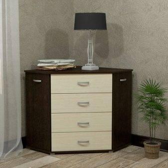 Комоды в спальню: варианты, дизайн, описание