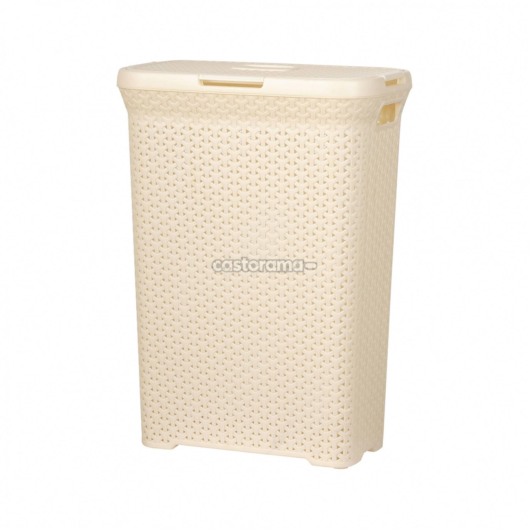 Корзина для белья в ванную комнату: последний штрих