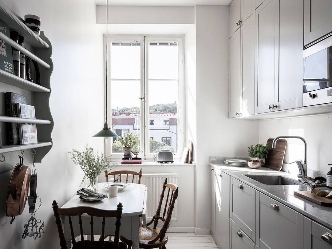 Дизайн маленькой кухни: идеи интерьера и планировки, варианты обустройства с фото