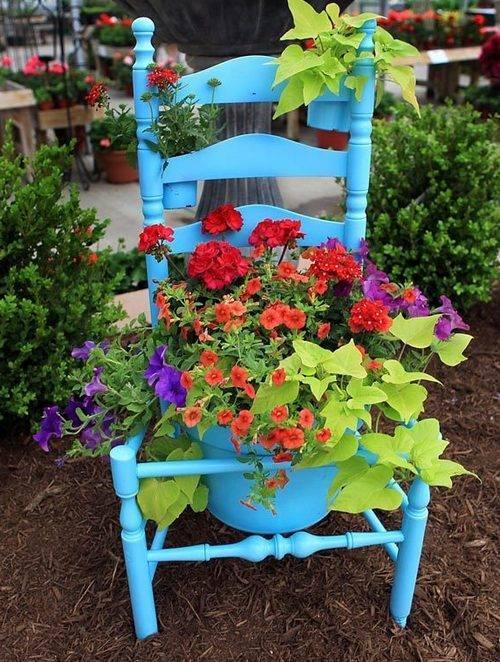 Украшения для сада своими руками: лучшие идеи + фото
