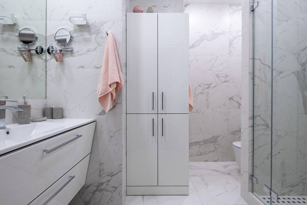 Дизайн ванной комнаты в светлых тонах – интерьер в пастельном тоне